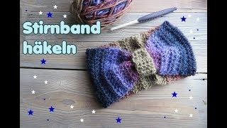 Stirnband Im Zopfmuster Häkeln самые популярные видео