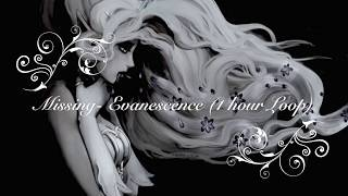 Evanescence- Missing (1 Hour Loop)