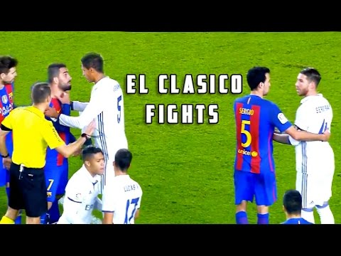 download worst side of real madrid vs barcelona 720p hd el clasico fights fouls red cards