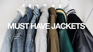 MUST HAVE JACKETS FOR FALL / INEXPENSIVE & VERSATILE