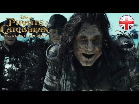 PIRATES OF THE CARIBBEAN | Salazar's Revenge CLIP - Ghosts | Official Disney UK