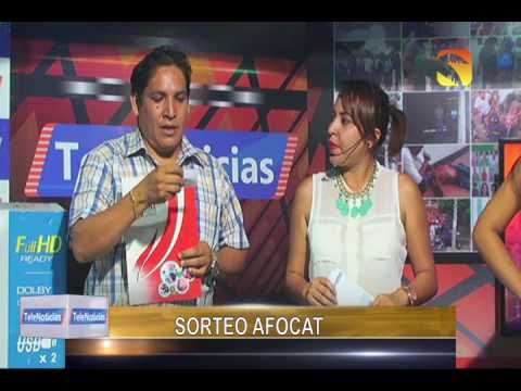 Sorteo AFOCAT San Martin - Junio 2016