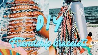 DIY Basic Friendship Bracelets