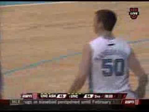 "Video: Tyler Hansbrough dunks on 7'9"" Kenny George"