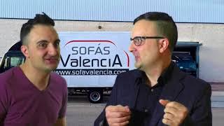 Historia de Sofás Valencia explicada por el humorista Miguel Serrano ( Humor)