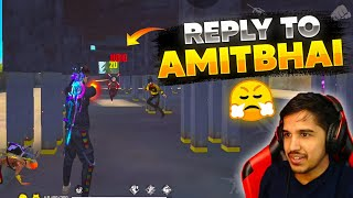 Reply To Amit Bhai😤 Why He Call Me Noob- Romeo Gamer Garena Free Fire