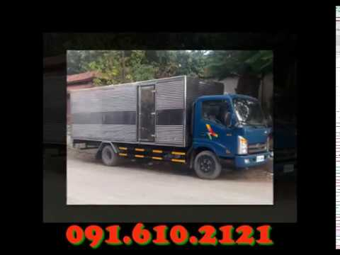 Xe tải 2 tấn thùng dài 6m2 vào phố - Veam VT260
