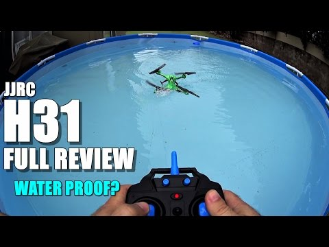 JJRC H31 Waterproof Drone - Full Review - [UnBox, Inspection, Setup, Flight/Water Test]