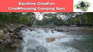 Eachine CineFun HD Cinewhoop FPV Whooping Fun camping spot