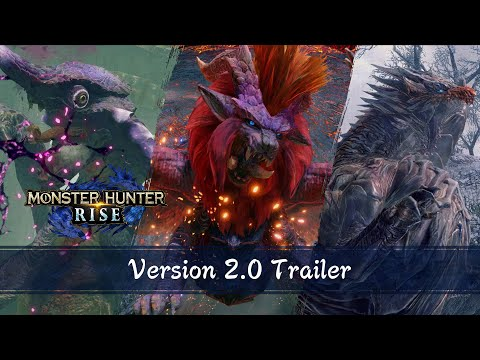 Update Ver. 2.0 - Dragons Anciens & Monstres Supérieurs de Monster Hunter Rise