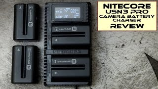 Nitecore USN3 Pro Camera Battery Charger: Review