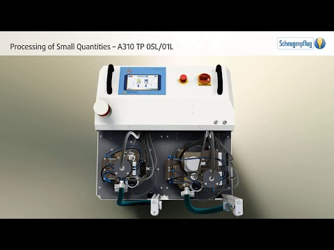 Sensitive or Cost-Intensive Media | A310 TP 05L/01L for Processing of Small Quantities