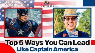 How to lead like Captain America
