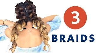 ★ 3 Ridiculous SUMMER HAIRSTYLES You Thought Youd NEVER Try | Cute Braids & Bun Hairstyle