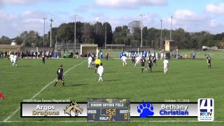 Boys Soccer Regional Semi-Final Argos vs Bethany Christian