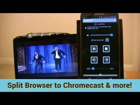 Video of Split Browser Trial