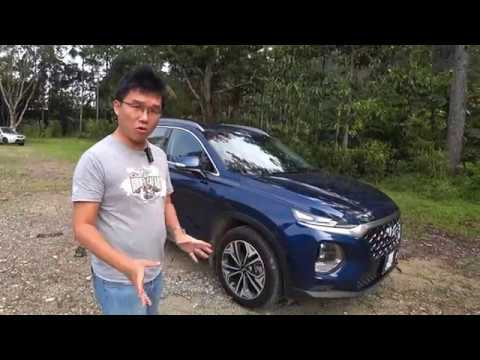 2019 Hyundai Santa Fe 2.4 Petrol Full Walkaround Review   EvoMalaysia.com