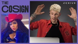 Machine Gun Kelly Reacts To New Midwest Rappers (Lizzo, Polo G, Comethazine) | The Cosign