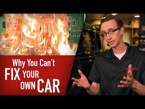 It Sucks That We Can't Even Fix Our Own Cars These Days: The Skinny With Craig Cole