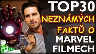 TOP 30 NEZNÁMÝCH FAKTŮ o Marvel Filmech
