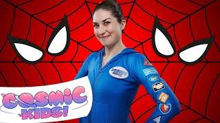 Spider-man yoga compilation   Cosmic Kids Yoga