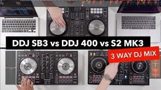 3 Way DJ Mix – Pioneer DDJ 400 vs DDJ SB3 vs Traktor S2 MK3