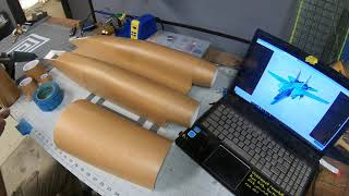 Forming Round Contours with Foam Board