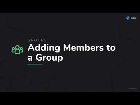 Adding Members to a Group