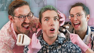 We Learn How To Do Professional Facials (ft. Hyram)