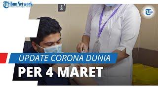 Update Corona Dunia 4 Maret 2021: Total 115,7 Juta Terinfeksi, AS Laporkan 20 Juta Pasien Sembuh