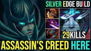 Top 1 DotaBuff [Phantom Assassin] Silver Edge REAL ASSASSIN BUILD 29Kills By Logan   Dota 2 FullGame
