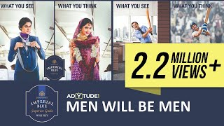 Seagram's Imperial Blue- Men Will Be Men Series compilation.| All Funny Men Will Be Men Ads