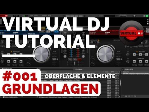 Virtual DJ Tutorial Deutsch | #001 DJ Grundlagen 🎧 Mixen lernen Anfänger German | Virtual DJ Spotify
