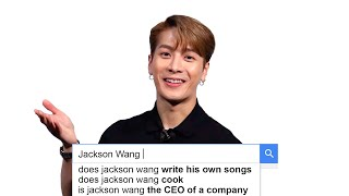 Jackson Wang Answers the Web's Most Searched Questions | WIRED
