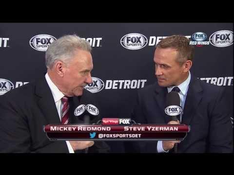 Steve Yzerman and Mickey Redmond Interview - Nov 9, 2013