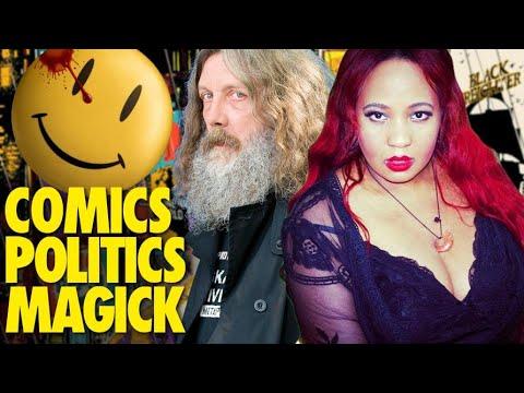 Comics and Politics : The Magick of Alan Moore