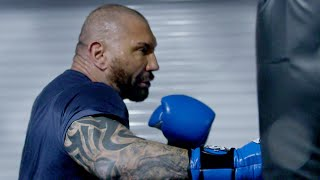 Batista trains for his WrestleMania clash with Triple H