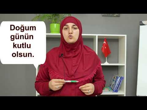 С днем рождения на турецком языке