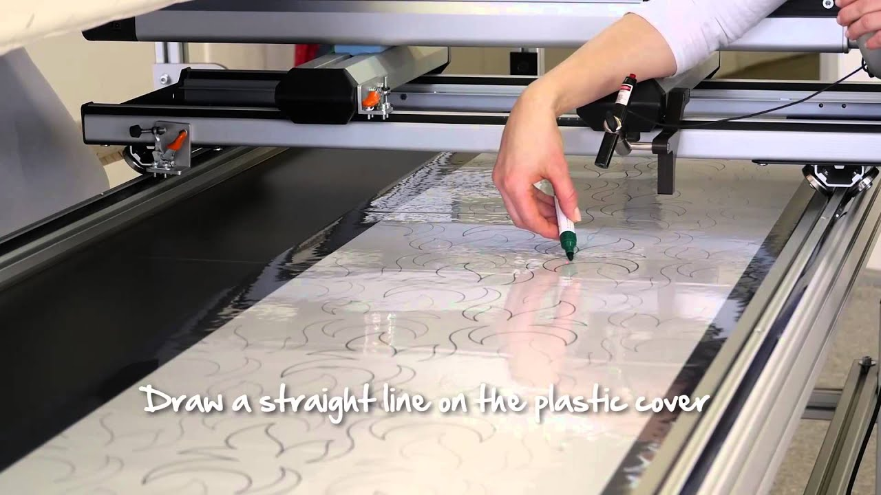 BERNINA Q 24: Using the BERNINA pantograph kit