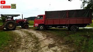 Lori LEKAT Tractor Tolong #LoriPadiPunNakLekatJugak