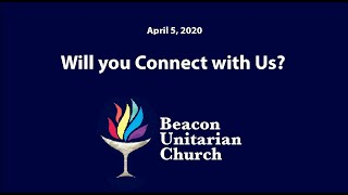 2020-04-05: Will you connect with us?