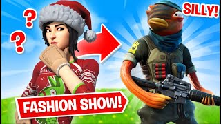 Fortnite | Fashion Show! Skin Competition! *MOST SILLY SKINS* & EMOTES WINS! [8/8]