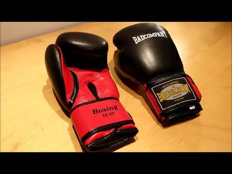 Bad Company Pro Leder mit Airy-System | klassische Boxhandschuhe aus echtem Leder im Test | Review