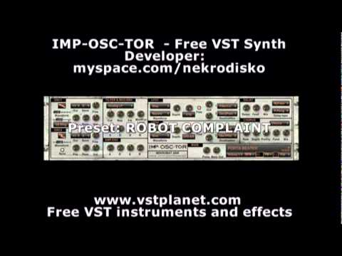 Free VST Synth For Windows – The Imp-Osc-Tor | Synthtopia