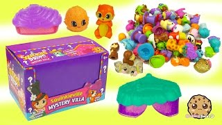 Full Box Squinkieville Mystery Villa Surprise Squinkies Do Drops Blind Bag Super Unboxing