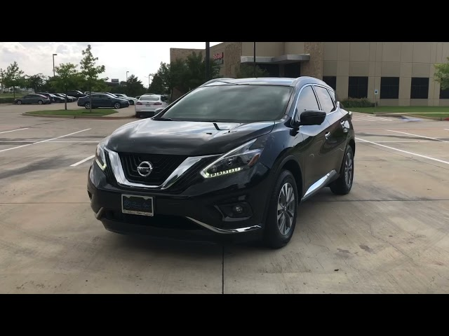 Pre-Owned 2018 Nissan Murano SL Leather Navigation BackUpCamera HeatedSeats OneOwner