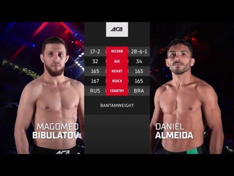 АСА 120: Магомед Бибулатов vs. Даниэль Алмейда – Video