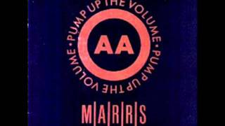 MARRS - Anitina (The First Time I See She Dance) (remix) - AA side of Pump Up The Volume