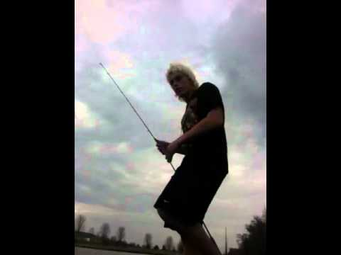 Pond bass fishing in Rochester Minnesota 2