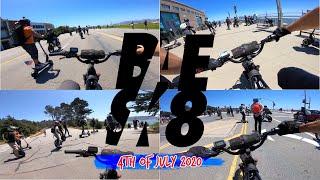 Juiced Bikes City Scrambler BAESK8 Group Ride 4th of July 2020 | GoPro Hero 7 FPV RAW Video Footage